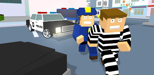 Dive into this fun action game on the playstore! Blocky Cop Craft Running Thief