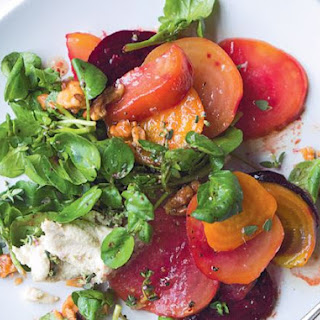 Roast Beetroot & Goat's Cheese Salad