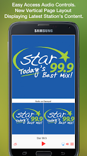 Star 99.9- screenshot thumbnail
