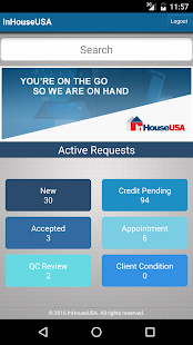 InHouseUSA Mobile App- screenshot thumbnail