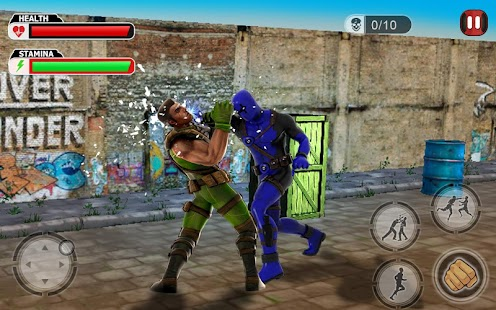 Incredible Superhero Fight : Heroes Of The Galaxy Screenshot