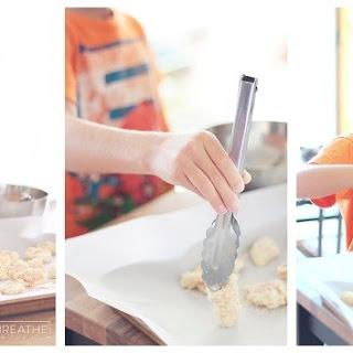 Cheesy Ranch Popcorn Chicken - Low Carb & Gluten Free