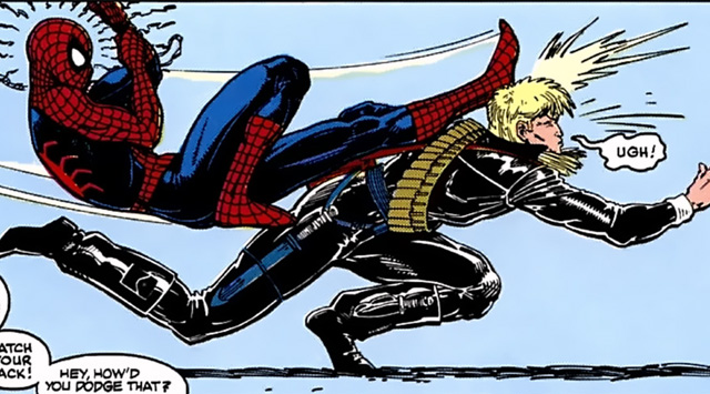Longshot Spiderman Arthur Adams Ann Nocenti