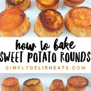 How To Bake Sweet Potato Rounds.