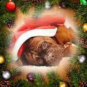 Weihnachts-Bilderrahmen