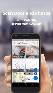 Camera Scanner, Scan Documents – Rapid Scanner 4.2.k Android Mod + APK + Data 2