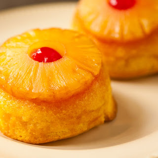 Pineapple Upside-Down Mini-Cakes.