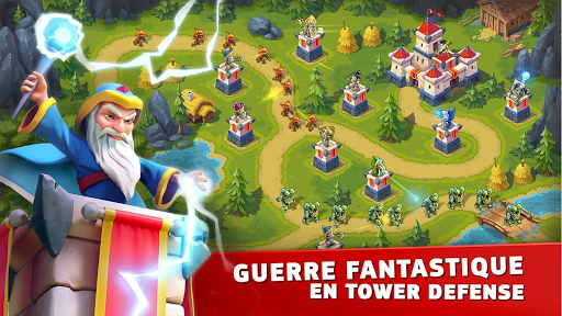 Toy Defense Fantasy — Tower Defense Game APK MOD (Astuce) screenshots 1
