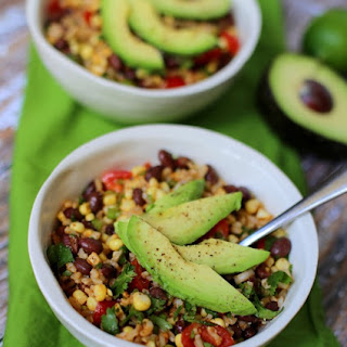 Black Bean and Brown Rice Salad.