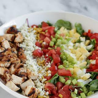 Grilled BBQ Chicken Salad.