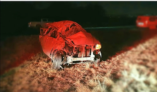 Gauteng woman killed in crash after being flung from car and run over on N4