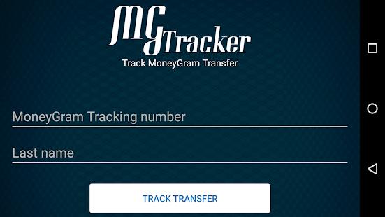 moneygram tracking number