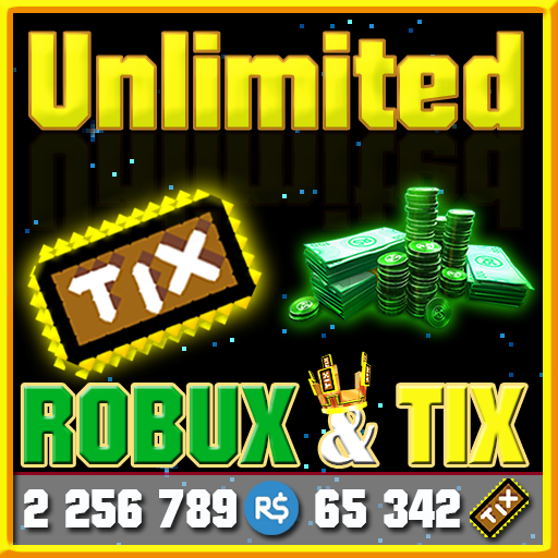 Unlimited Robux and Tix For Roblox Simulator (app)