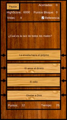 Preguntas Bíblicas - screenshot