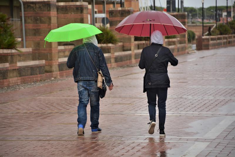 Passeggiando sotto la pioggia di MORENO ANTOGNOLI