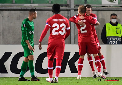 Antwerp won van Ludogorets in de Europa League