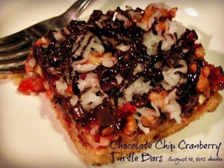 Cranberry Turtle Bars - Dee Dee's Recipe