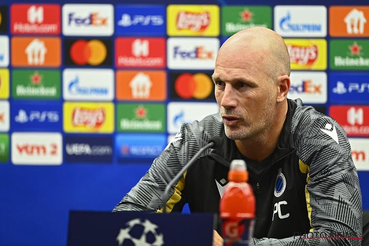 Une petite tournante pour le Club de Bruges, Still change son attaque