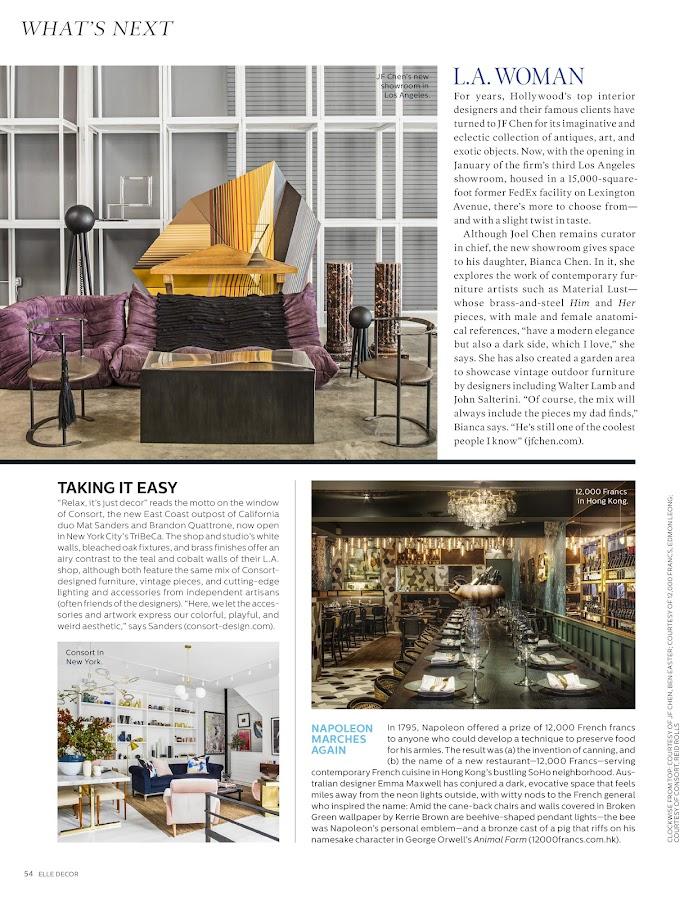 Picture Of Elle Decoration Magazine Italia Deco