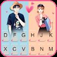 Love Couple Keyboard Theme