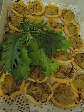 Photo: mini tartelette aux oignons