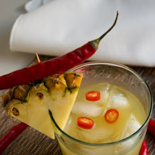 Quick Chili Infused Pineapple Vodka Cocktail Recipe