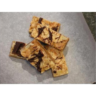 Butterscotchy Almond Bars