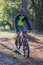 Photo: testing the beginning mtn bike clinic track
