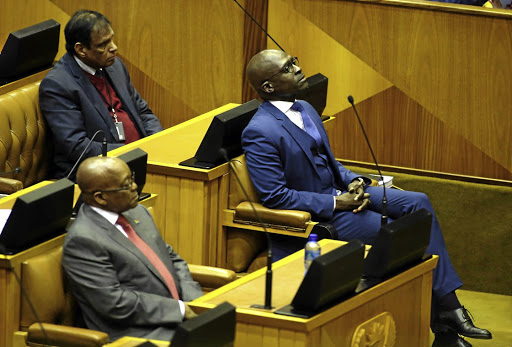 President Jacob Zuma determination to capture Treasury culminated in his appointment of  Malusi Gigaba as finance minister after he axed Pravin Gordhan, says the writer. /ESA ALEXANDER