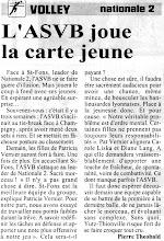 Photo: N2F l'ASVB reçoit le leader, Saint-Fons