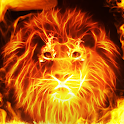Fire Wallpaper and Keyboard - Fire Lion icon