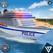 US Police Transport Cruise Ship Driving Game