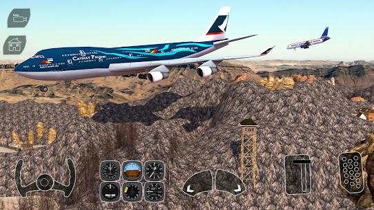 Take off Airplane Pilot Race Flight Simulator 8