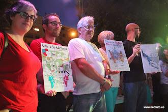 Photo: Elección cartel alternativo fiestas MONZÓN. Proclamación de ganadores