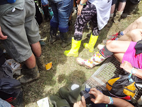 Photo: So many styles of Wellies