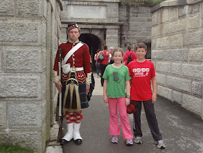 """Photo: Entering the Halifax Citadel which was free because it was """"Canada Day"""""""