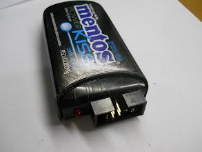 Photo: Ainda sem o cabo USB, mas já dá para ter uma noção do acabamento final