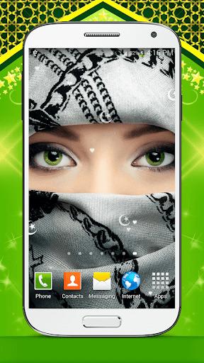 イスラム教徒の少女 ライブ壁紙 HD