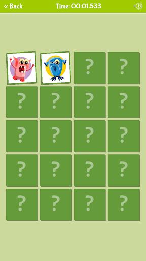 لقطات شاشة لعبة ذاكرة الوحوش اللطيفة 3