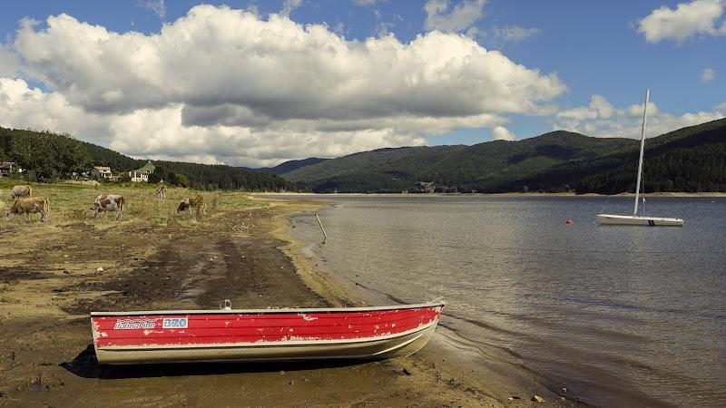 quiete in riva al lago di lugiube