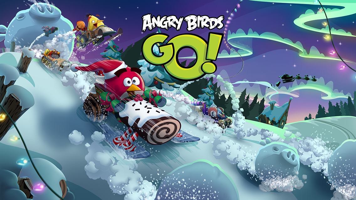 Angry Birds Go!- screenshot