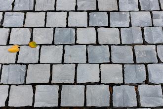 Photo: Marble road blocks.