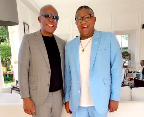 Fikile Mbalula and Julius Malema are friends despite their political differences.