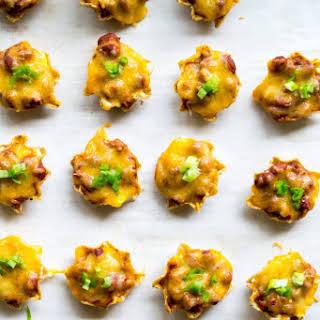 Chili Cheese Dip Bites.