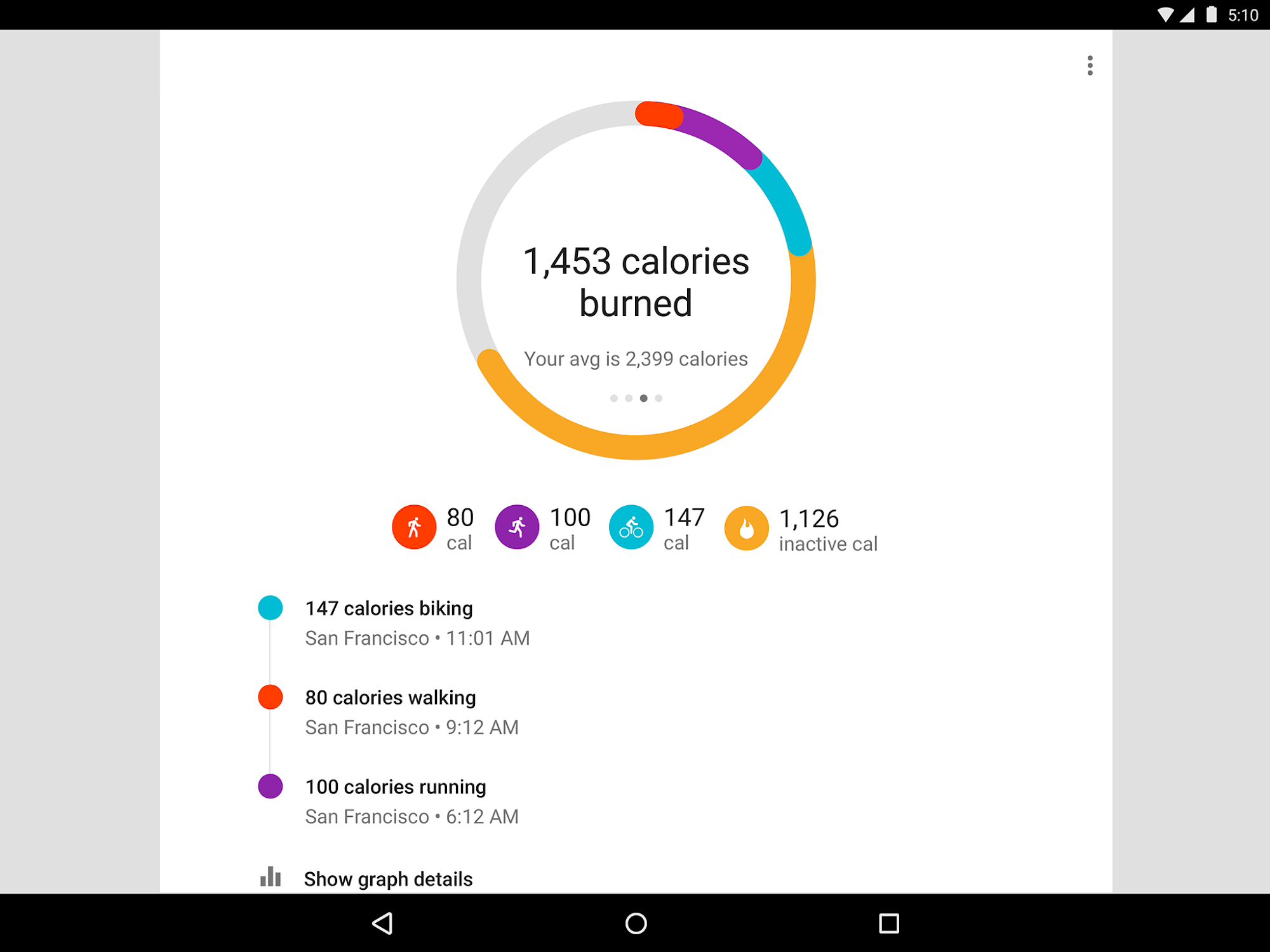 Google Fit - Fitness Tracking screenshot #6