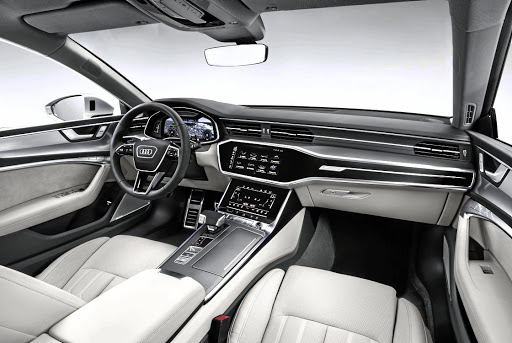 The interior is modern and elegant with some brilliant tech.   Picture: AUDI