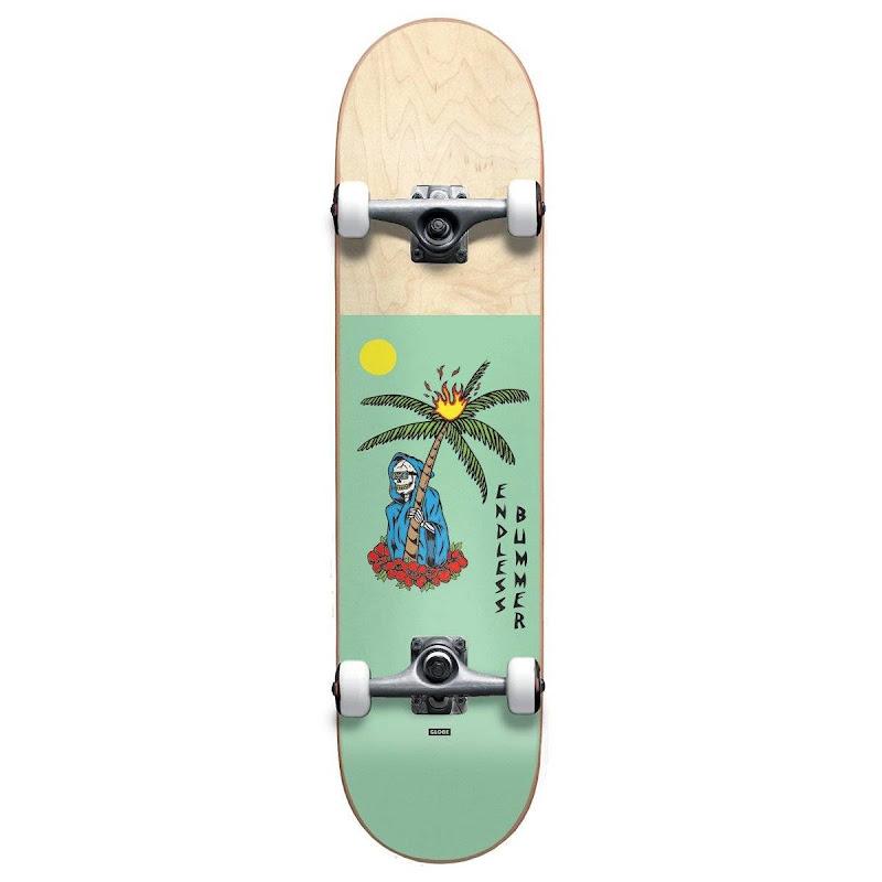 skateboard - Globe Endless Bummer Mid Seafoam 7.375