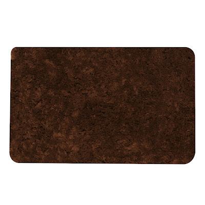 Коврик для ванной Red Coral 50х80 см темно-коричневый