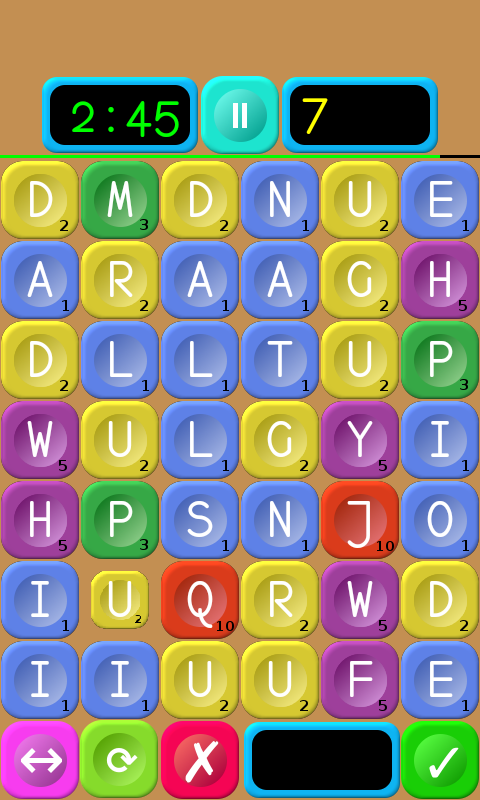 Words Builder HD- screenshot