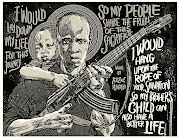 Nyoni's depiction of  MK soldier Solomon 'Kalushi' Mahlangu.